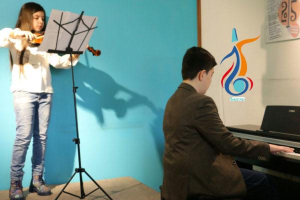 بهترین آموزشگاه موسیقی در کرج-دونوازی پیانو و ویولن