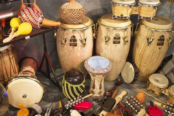 بهترین آموزشگاه موسیقی در کرج-سازهای کوبه ای